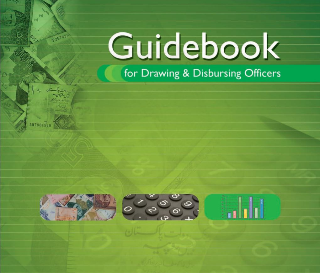 A handbook for Drawing and Disbursing Officers (download pdf). - allpaknotifications.com