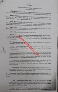 Ordinance | Khyber Pakhtunkhwa Civil Servants (Amendment) Ordinance 2021 (Retirement from Service) | March 25, 2021 - allpaknotifications.com