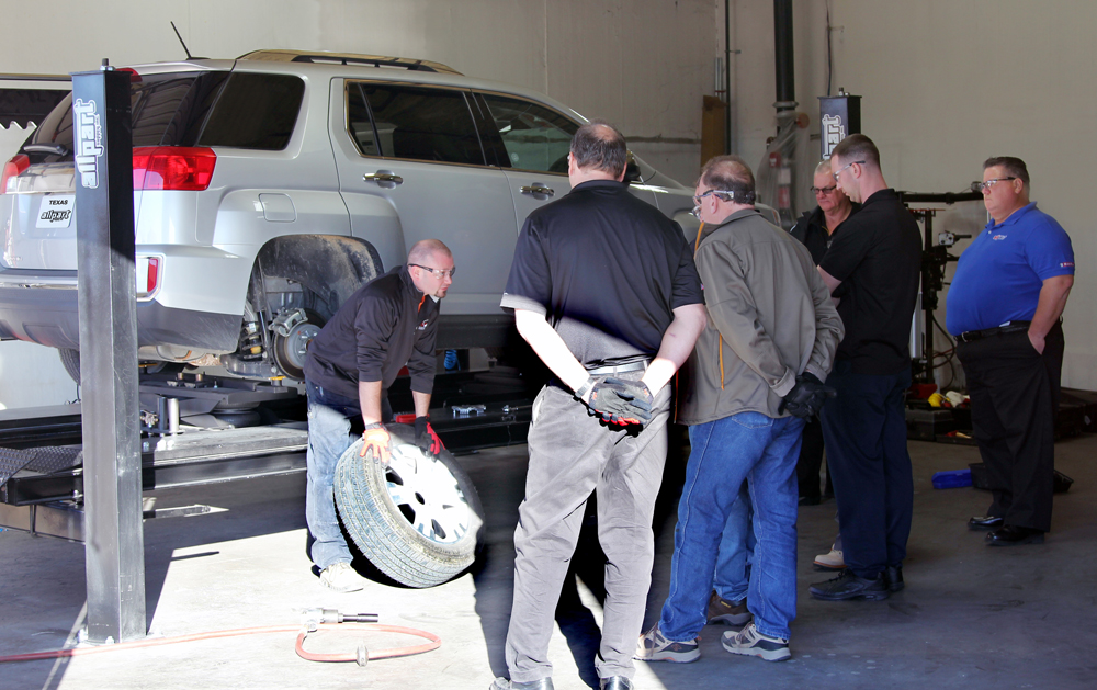 Allpart Supply Opens New Wheel Balancing and Automotive Lift Training Center with TIA Certified ATS Training