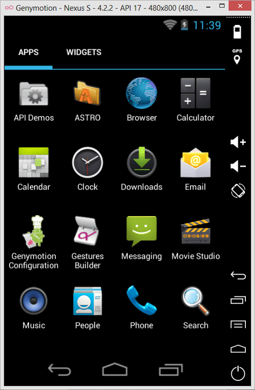 windows phone app emulator for android