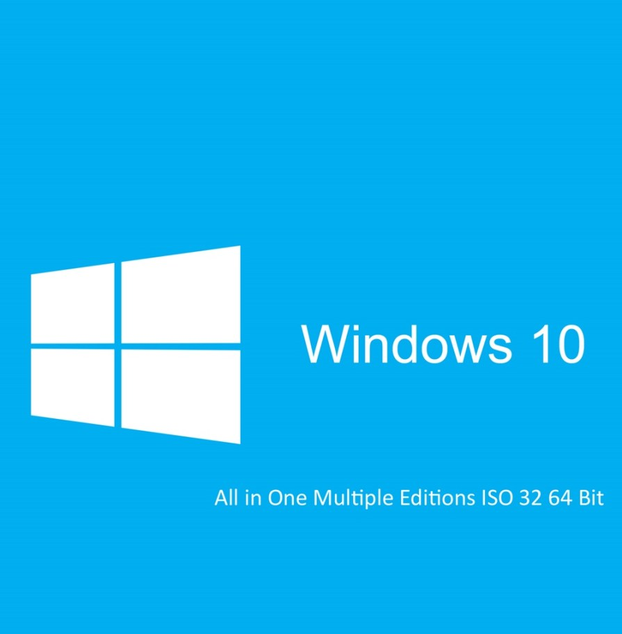 Windows 10 All in One Latest RTM OEM Final ISO Free Download