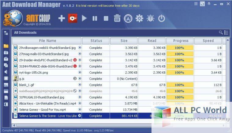 Ant Download Manager v1.0.7 Free Download