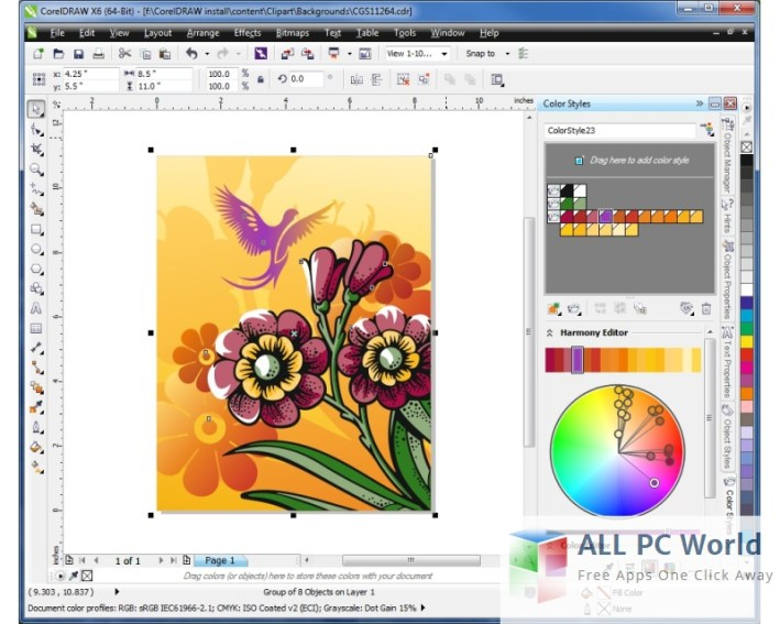 CorelDraw 11 Graphics Suite Review and Features