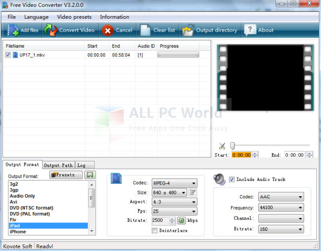 Koyote Video Converter Review and Features