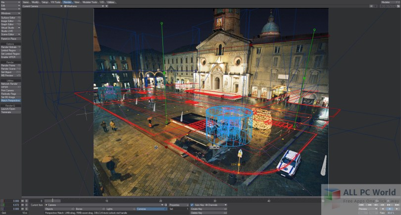LightWave 3D User Interface