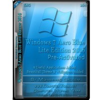 Windows 7 Aero Blue Lite Edition 2016 Free Download