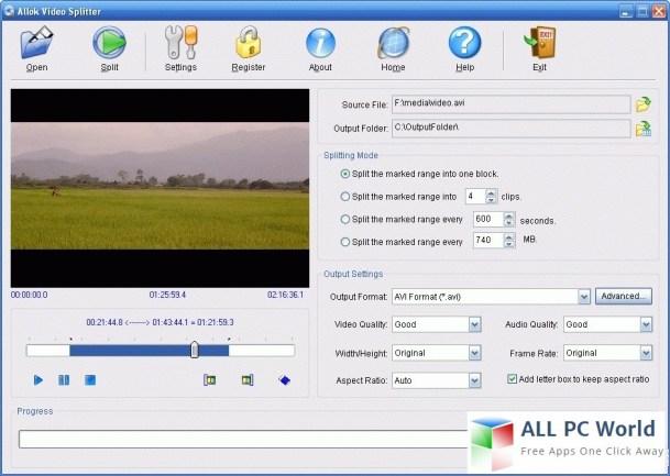Allok Video Splitter Review