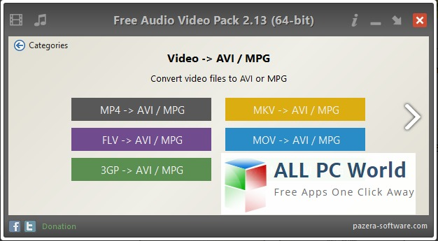 Audio Video Pack 2.13 Review