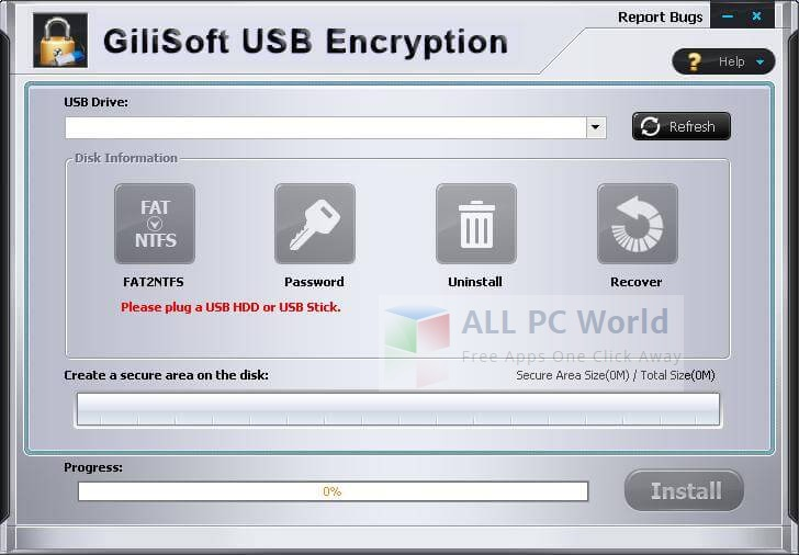 Gilisoft USB Encryption Review