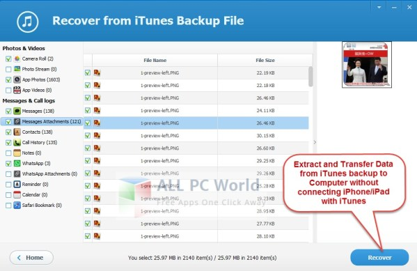 Jihosoft iTunes Backup Extractor Review