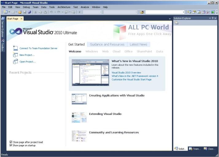 Visual Studio 2010 Ultimate Review