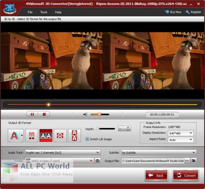 4Videosoft 3D Converter Review