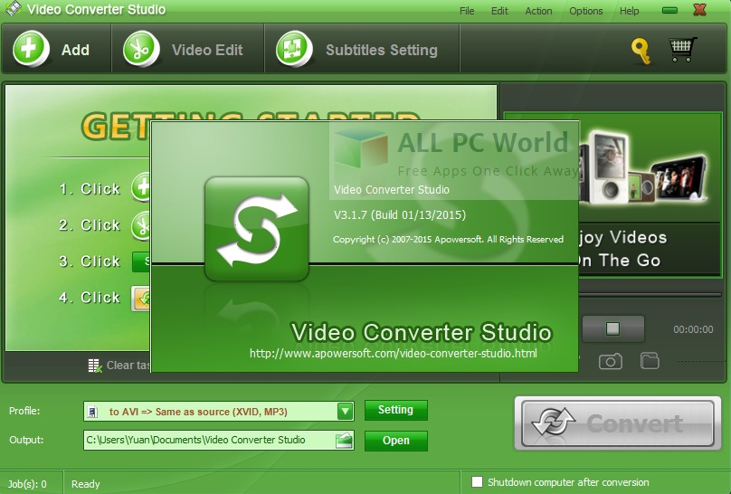 Apowersoft MKV Converter Studio Review