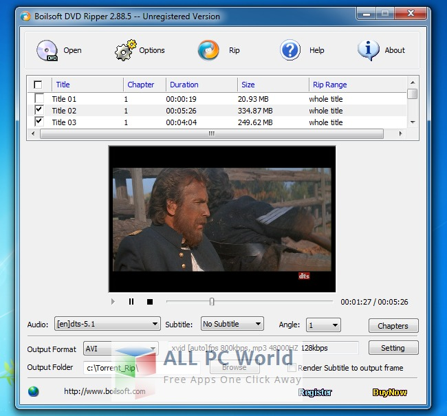 Boilsoft DVD Ripper Review