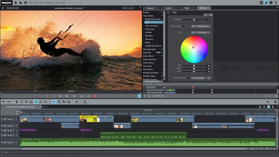 MAGIX Movie Edit Pro 2016 Premium Review