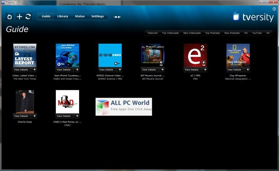 TVersity Pro Media Server Review