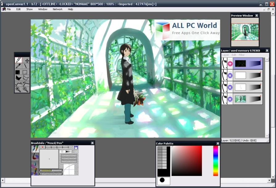 openCanvas Graphic Editor Review