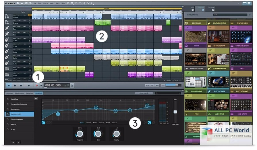 Download MAGIX Music Maker 2017 Premium 24 Free