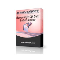 Download RonyaSoft CD DVD Label Maker Free