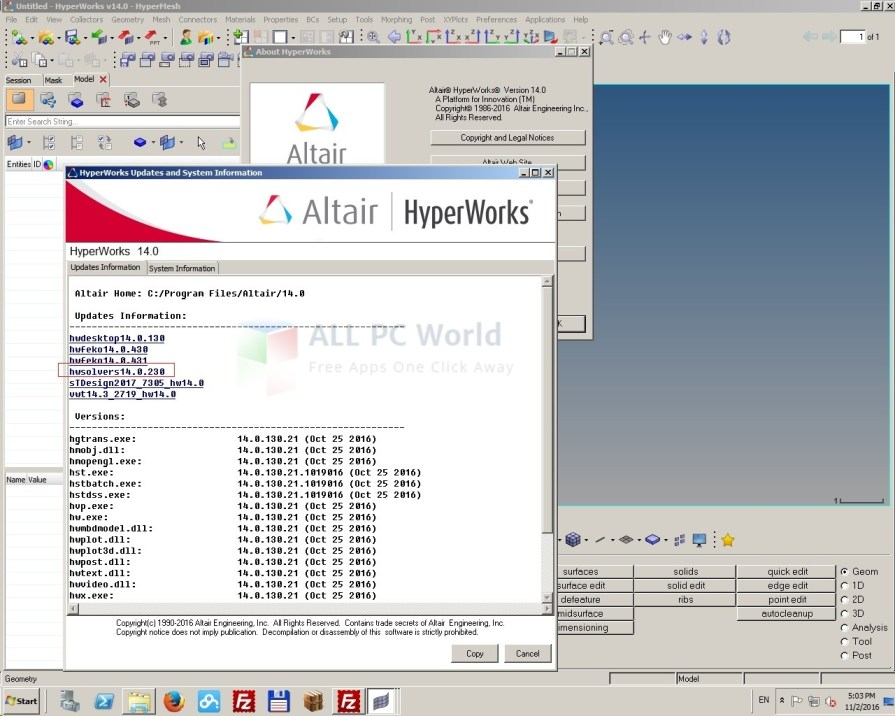 Altair HWSolvers 14.0.220 Review