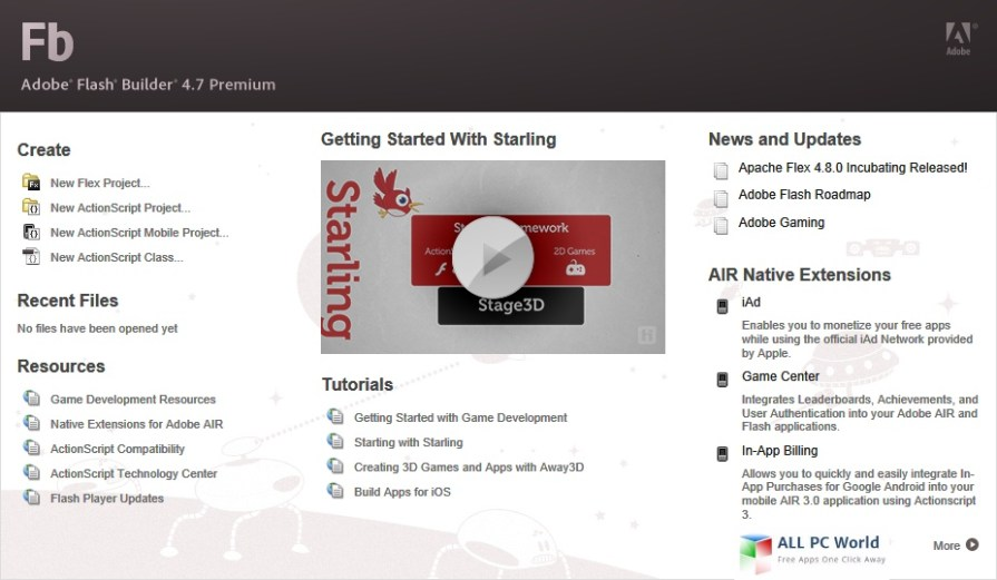 Download Adobe FlashBuilder 4.7 Free