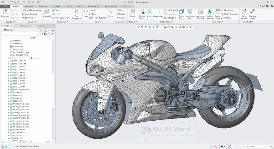 PTC Creo 4.0 M010 + HelpCenter Full Multilingual 2017 Review