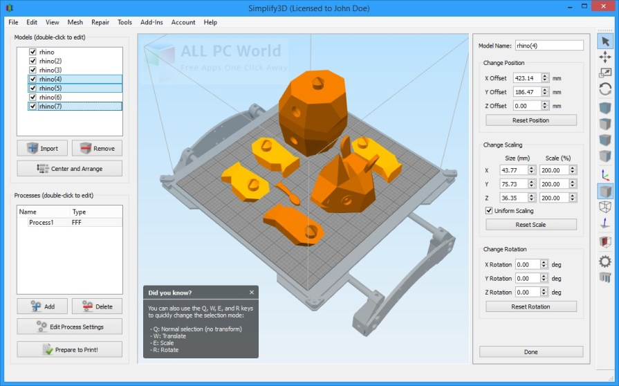 Simplify3D 3.1 Review