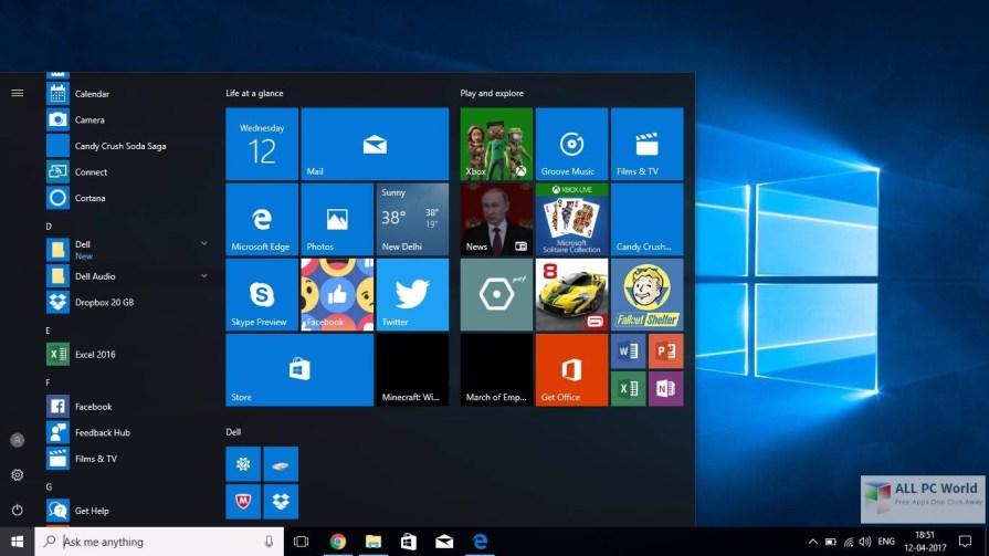 Windows 10 Pro Creators Update Apr 2017 DVD ISO Free Download