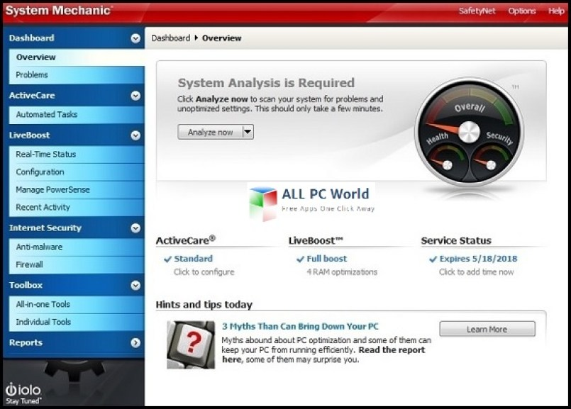 System Mechanic v16.5.3.1 Final Review