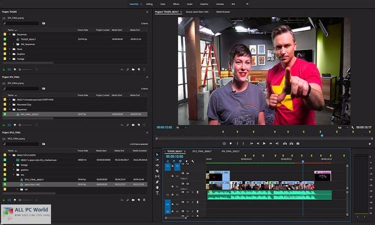 Adobe Premiere Pro CC 2018 12.0 Overview