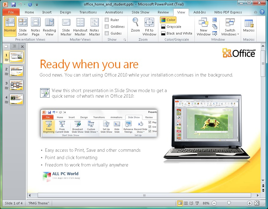 Microsoft Office 2010 Home and Business Review