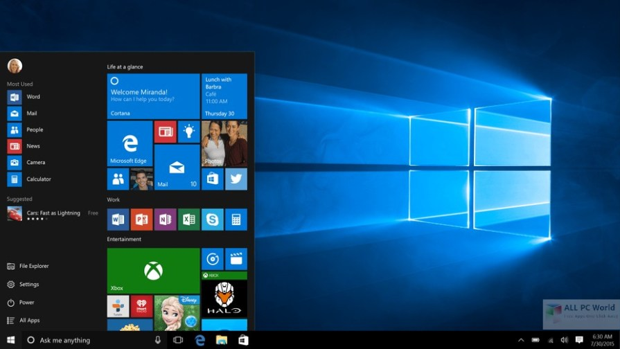 Windows 10 Lite Edition v4 x64 2017 Review