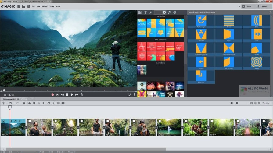 MAGIX Photostory Deluxe 2018 17.1 Review
