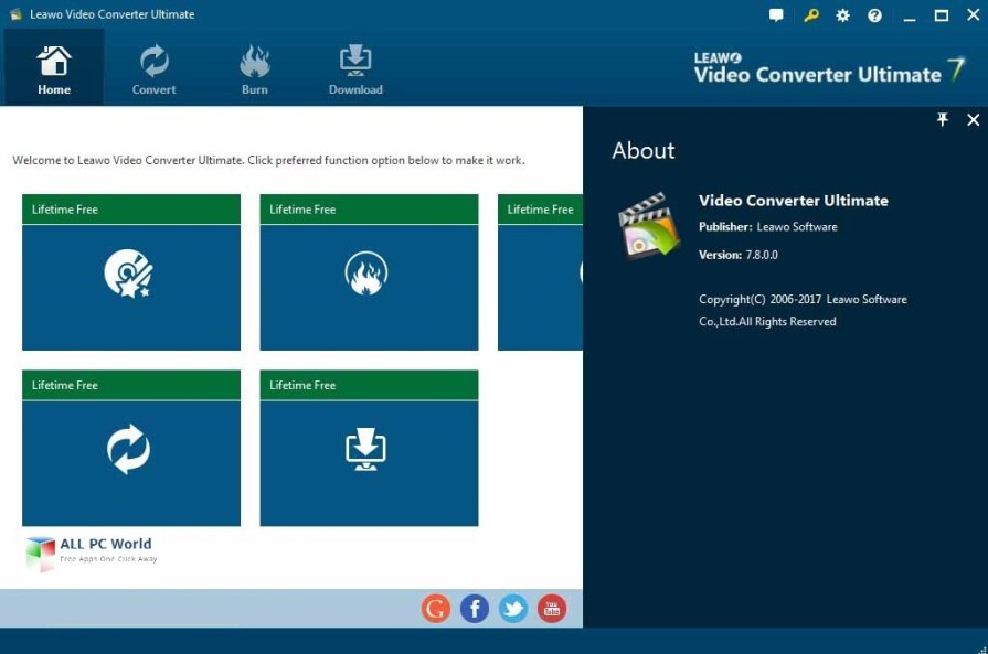 Leawo Video Converter Ultimate 7.8 Review