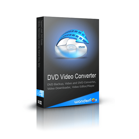 WonderFox DVD Video Converter Download Free - Shortcut