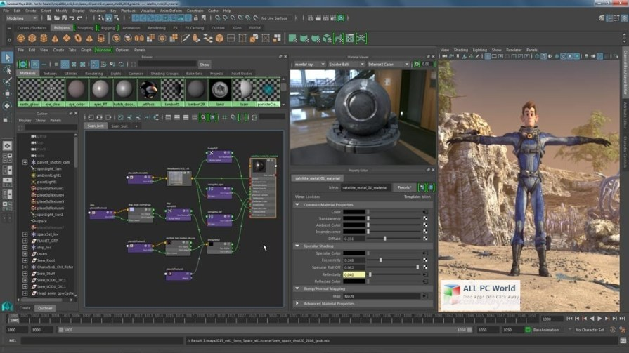 Autodesk Maya 2017 Review