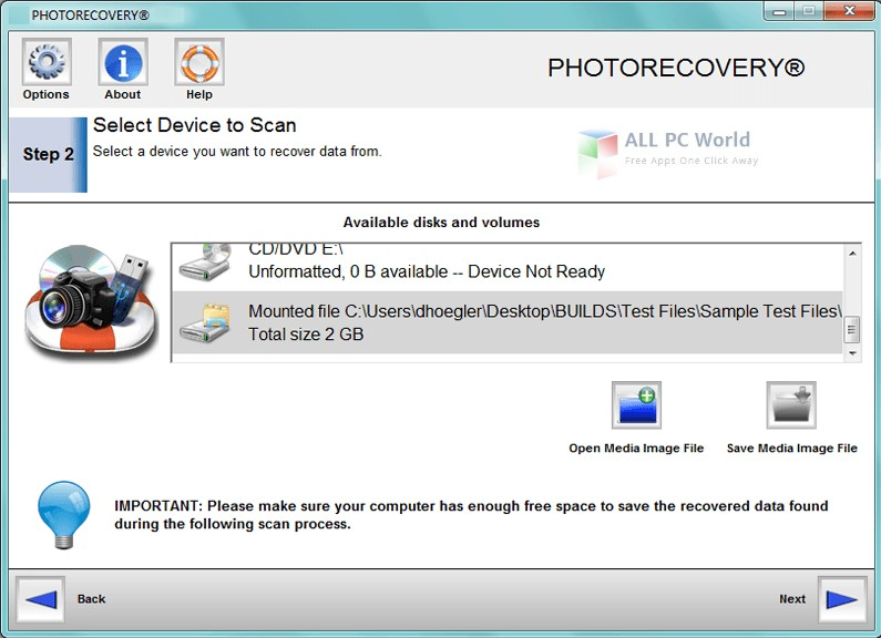 Download PHOTORECOVERY Professional 2018 5.1