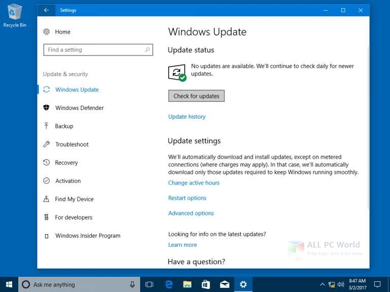 Download Windows 10 All in One with March 2018 Updates