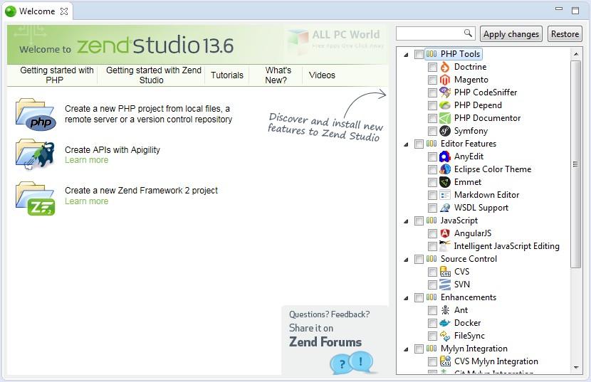 Download Zend Studio 13.6