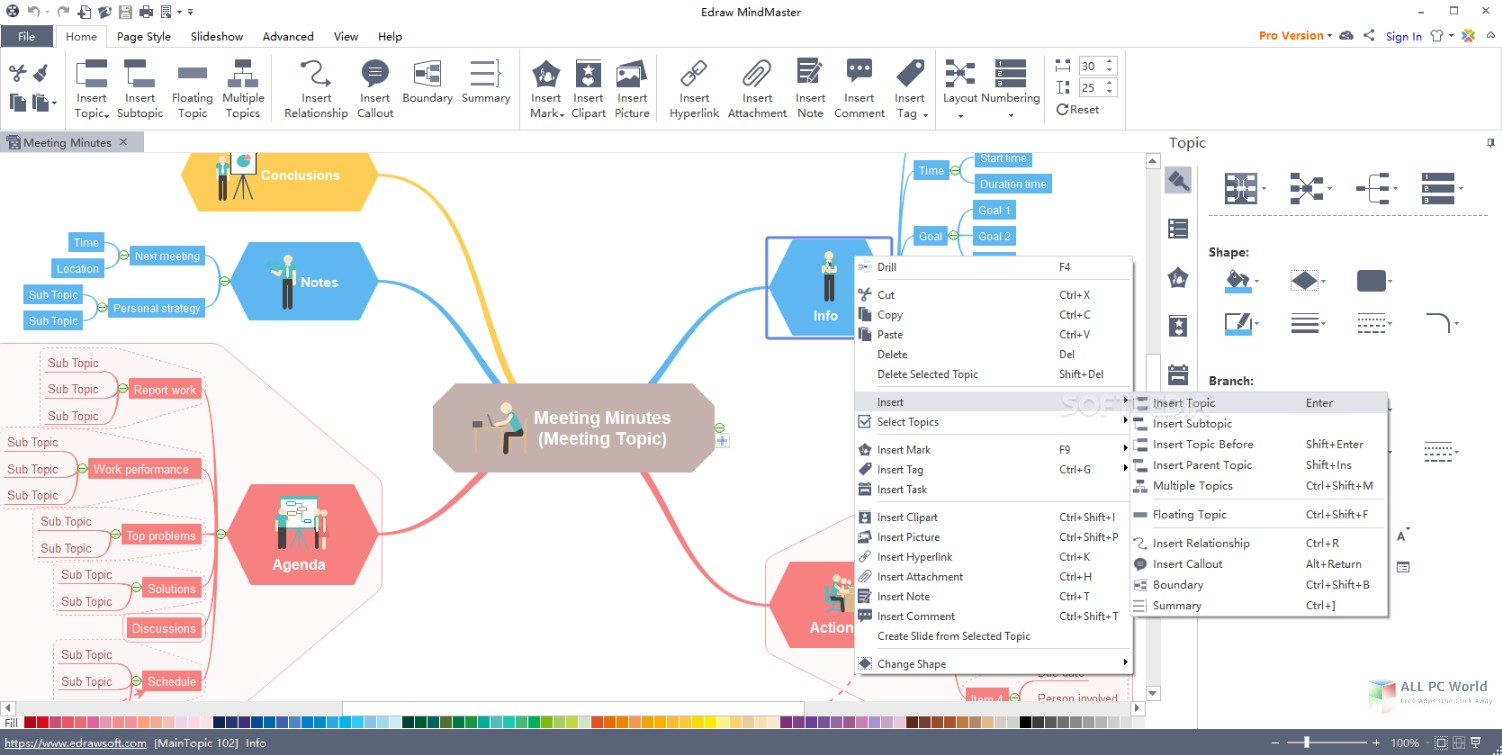 Edraw MindMaster Pro 8.0.3 With Crack Free Download[Latest]