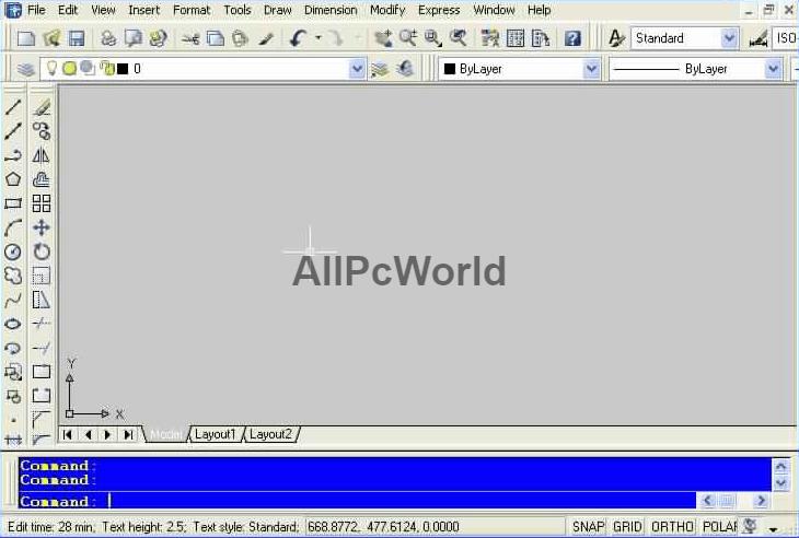 Autodesk AutoCAD 2004 User Interface