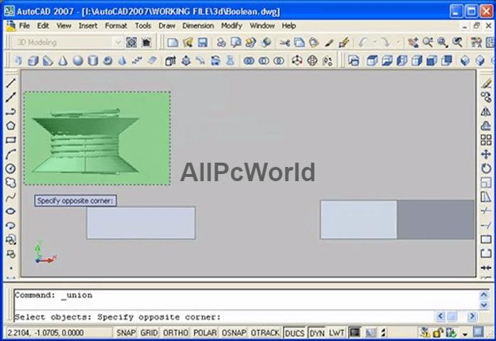 autodesk AutoCAD 2007 User Interface