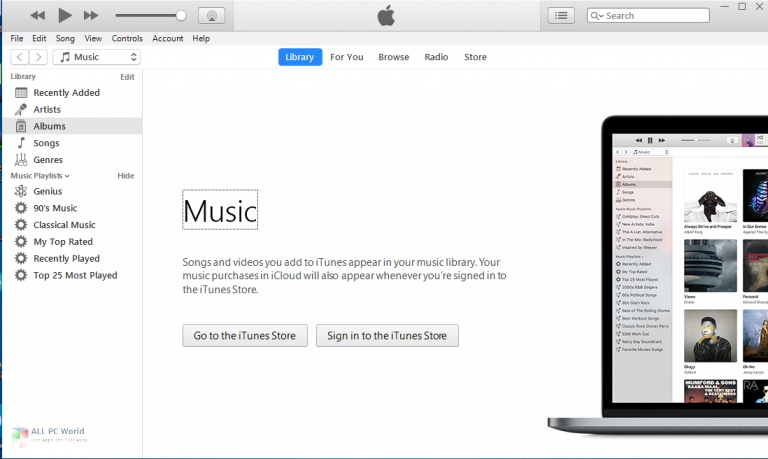 Apple iTunes 12.10.8.5 One-Click Download