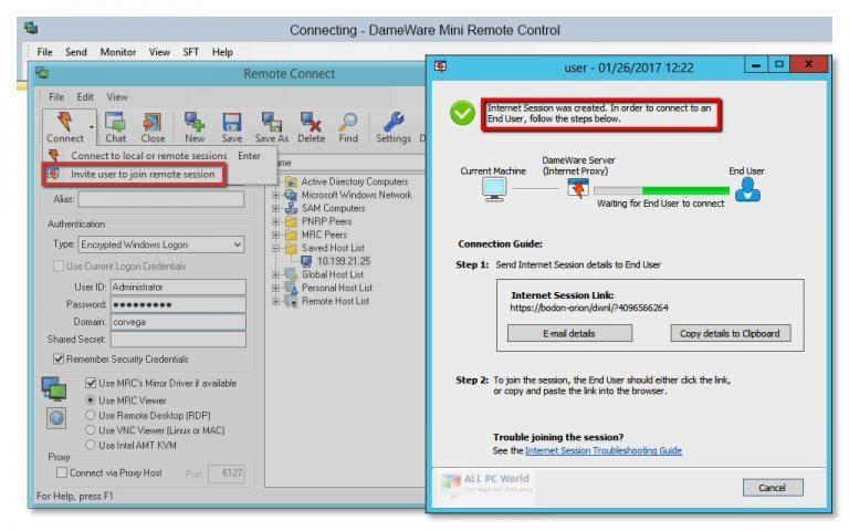 DameWare Mini Remote Control 2020 v12.1 One-Click Download