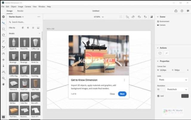 Adobe Dimension CC 2021 v3.4.4 Download
