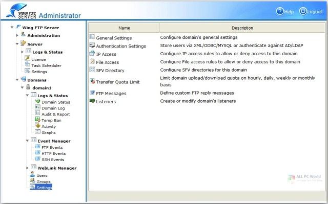 Wing FTP Server Corporate 6.4