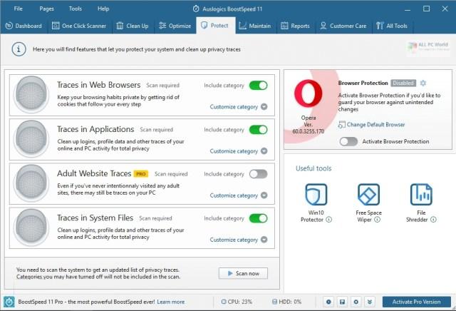 Auslogics BoostSpeed 12.0 One-Click Download