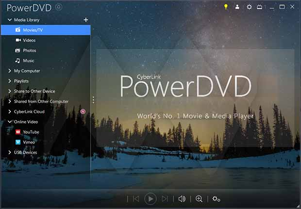 CyberLink PowerDVD Ultra 21.0 Free Download