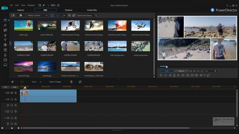 CyberLink PowerDirector Ultimate 20 Free Download for Windows 11