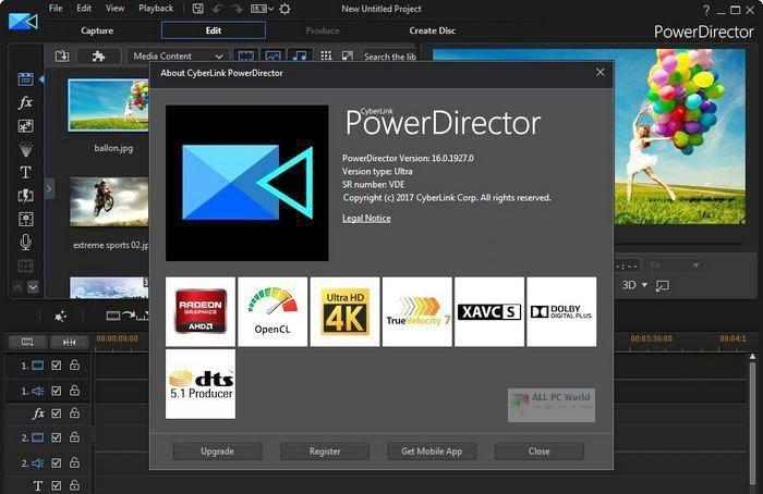 CyberLink PowerDirector Ultimate 20 One Click Download